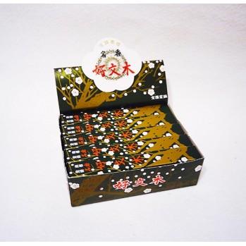 Kobunboku, bois de prunier, boîte de 10 rouleaux courts