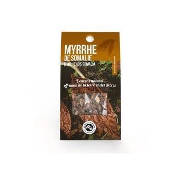 Myrrhe de Somalie, encens en resine, rituels et détente