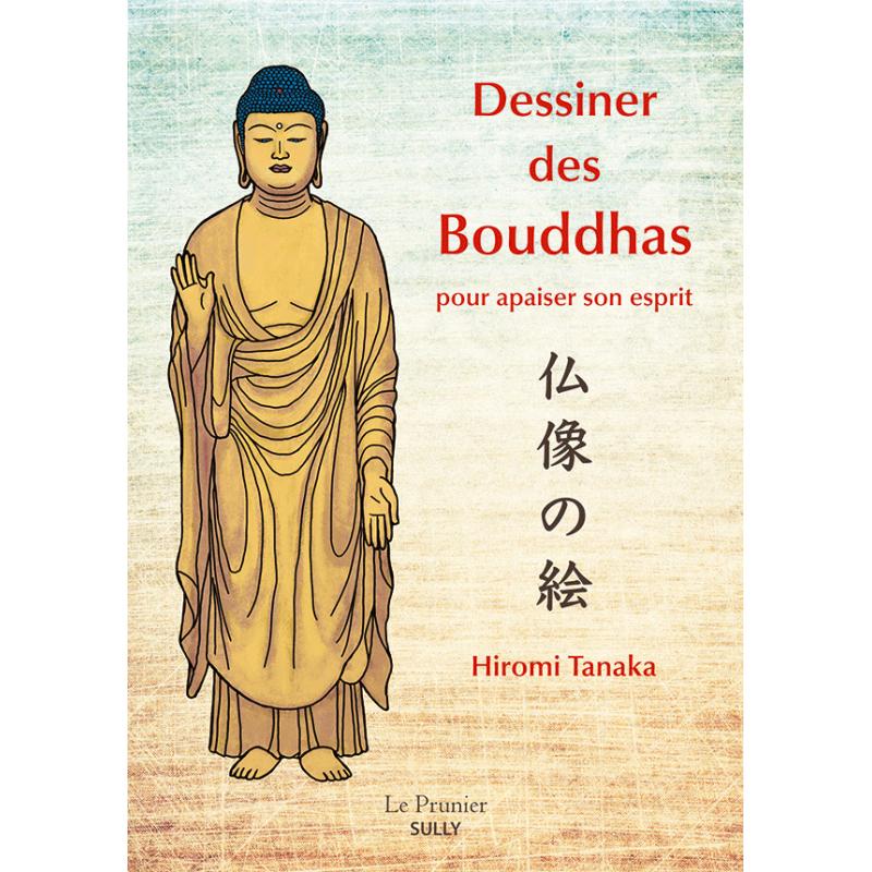 "Livre ""Dessiner des Bouddhas"", illustrations de Hiromi Tanaka"