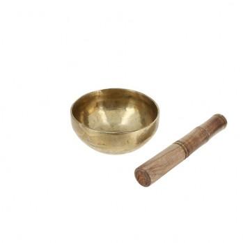 Bol chantant tibétain 11 cm aliage de 7 métaux