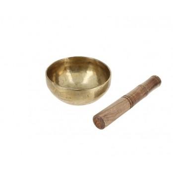Bol chantant 13 cm, alliage de 7 métaux