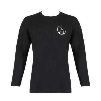 """T-shirt noir """"zazen"""""""