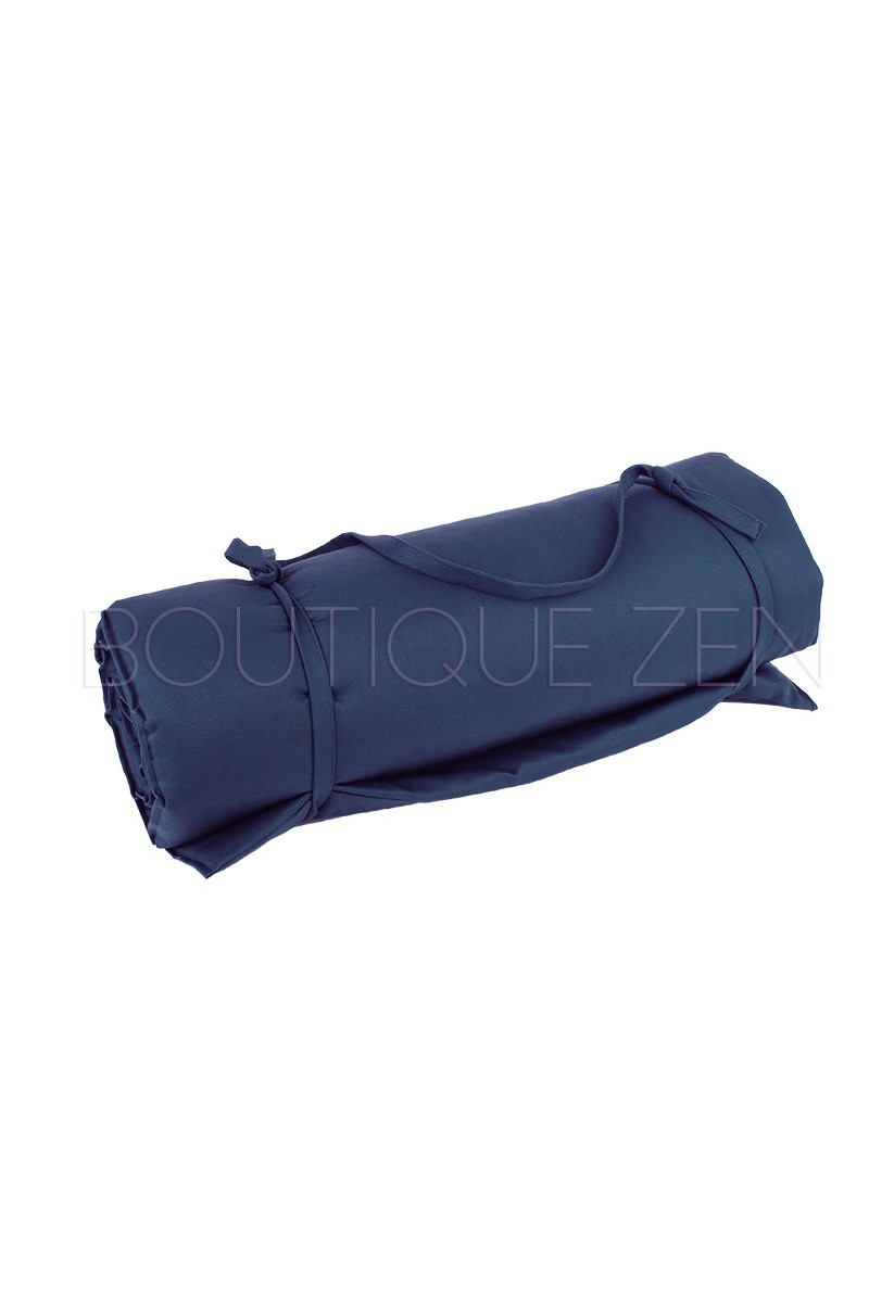 tapis de d tente bleu pour le yoga la m ditation la relaxation cr ation atelier zen. Black Bedroom Furniture Sets. Home Design Ideas