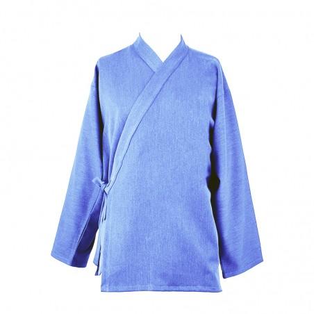Veste samue mini prix, bleu lavande, tissu strech