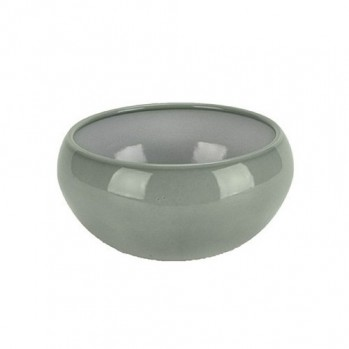 Vase vert eau pour ikebana et art floral