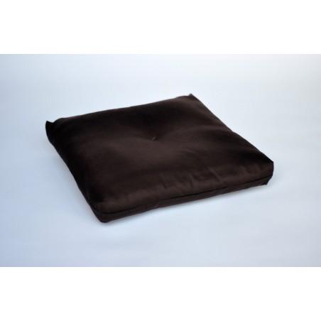 coussin de méditation marron pour zafu