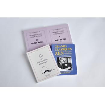 Grands classiques zen, collection de 4 livres