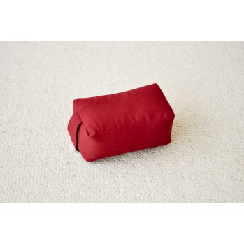 mini-zafu rectangle rouge