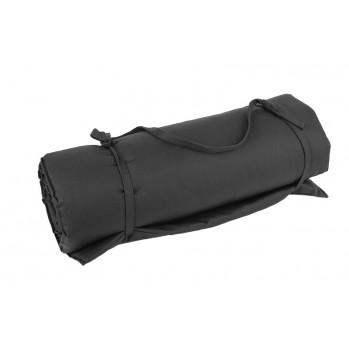 tapis de détente noir pour les massages, shiatsu