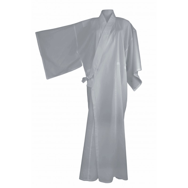 kimono long gris