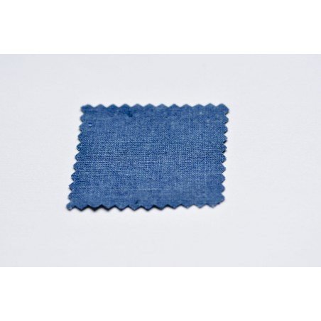 """échantillon tissu Veste samue en coton robuste, """"bleu-jean"""""""