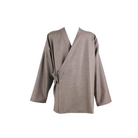 veste samue brun taupe très légère