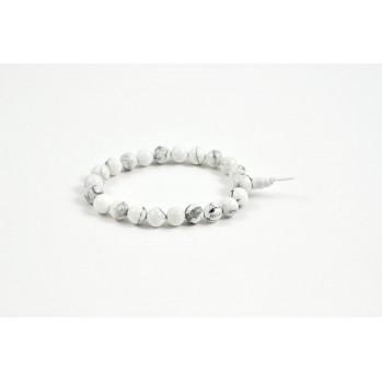 bracelet mala magnesite