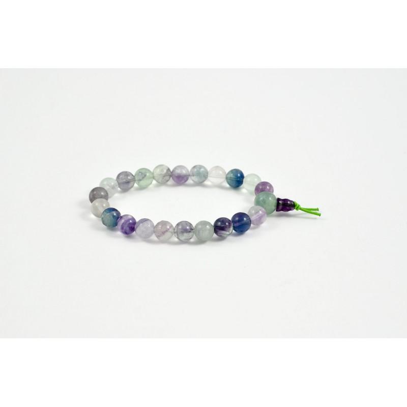 Mala bracelet en fluorite