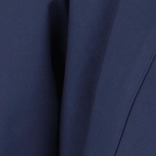 Veste samue bleu indigo coton bio, très solide