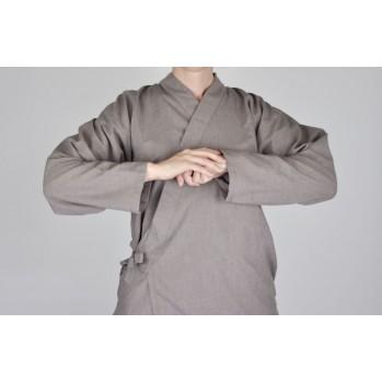 veste samue tissu très léger