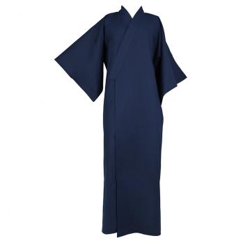 Kimono long bleu nuit