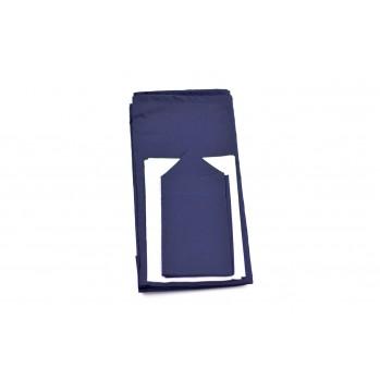 """Tissus pour bol """"furoshiki"""", bleu marine"""
