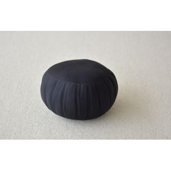 Zafu standard noir (kapok) coussin de méditation pour zazen