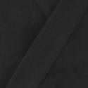 Veste samue noir coton bio
