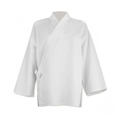 Veste Juban classique en coton, blanche