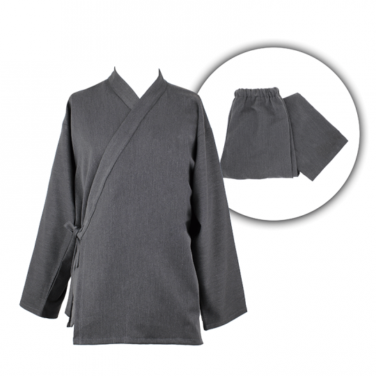 Ensemble Samue gris anthracite