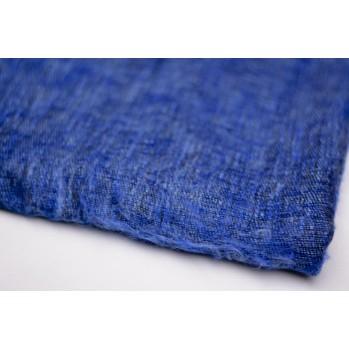 Châle de méditation / Plaid de relaxation - Bleu indigo