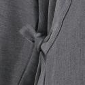 Veste samue gris anthracite en laine et viscose
