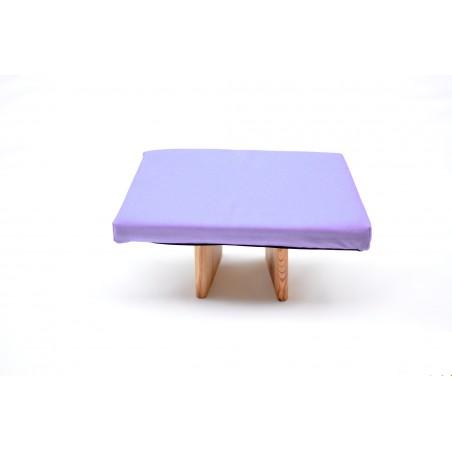Banc de méditation molletonné, confortable