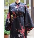 yukata japon coton fleur cérisier
