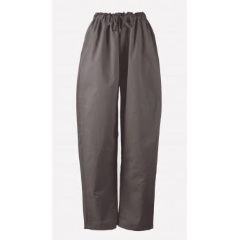 Pantalon samue brun chêne, 100 % coton