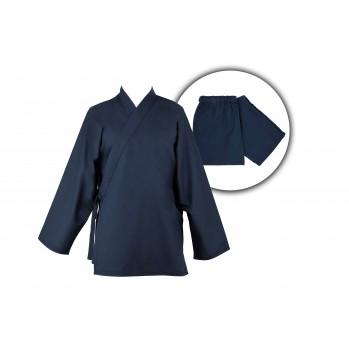 veste et pantalon bleu nuit