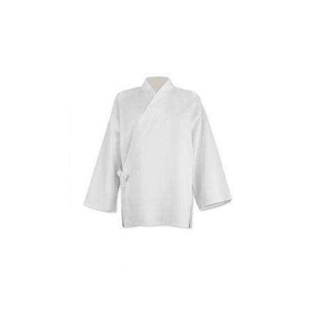 """Juban """"confort"""" en coton blanc"""
