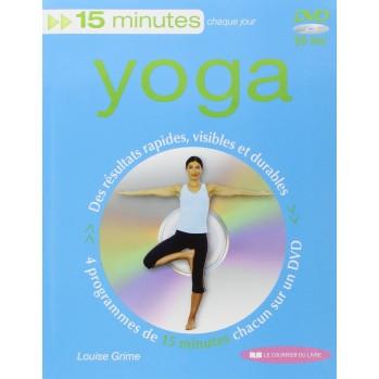 Quinze minutes Yoga - Livre CD