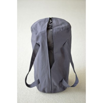 Futon de massage Shiatsu avec sac gris anthracite