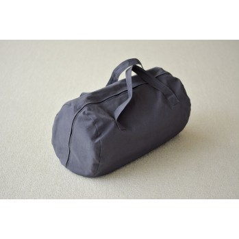 Sac à futon de massage gris, anthracite