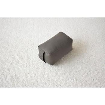 Mini-zafu brique gris (épeautre)