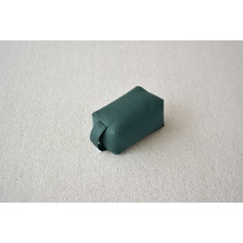 Mini-zafu brique vert foret (épeautre)