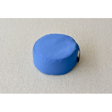 Zafu épeautre bio bleu turquoise