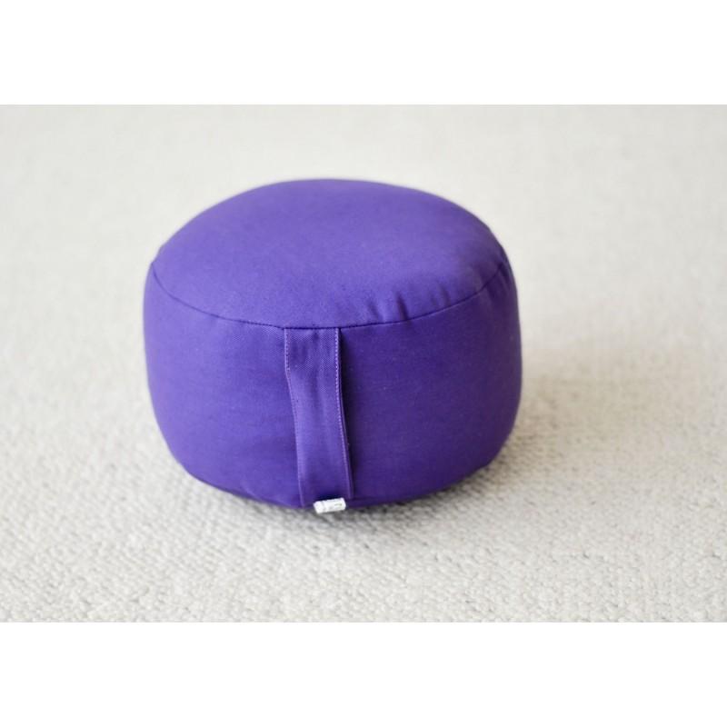 Zafu épeautre bio violet
