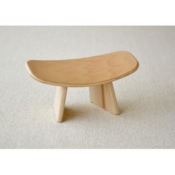 Banc zen en bois de hêtre, fabrication européenne