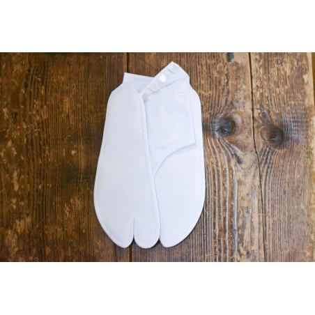 Tabi traditionnelle blanche en coton