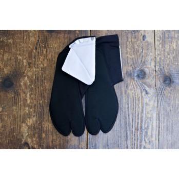 Tabi traditionnelle noire en coton 100%