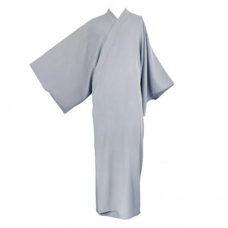 kimono long gris clair pour zazen