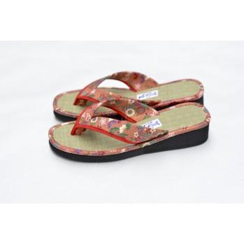 Zori sandales japonaises en paille de riz