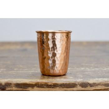 Tasse ayurvédique en cuivre martelé