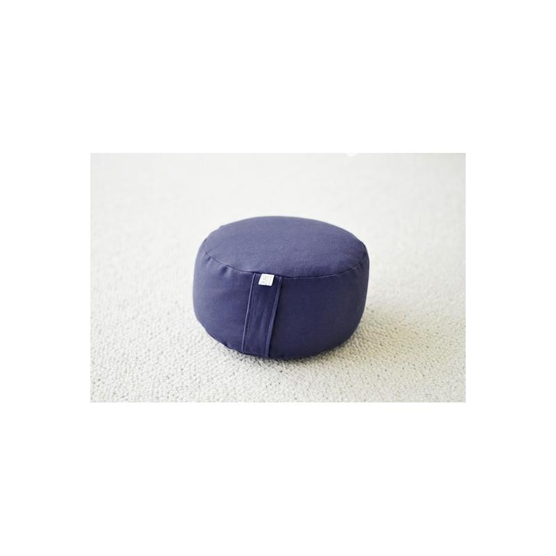 Zafu de voyage Bleu marine, shiatsu et méditation