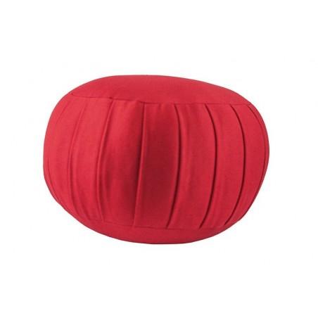 Zafu standard (kapok), rouge