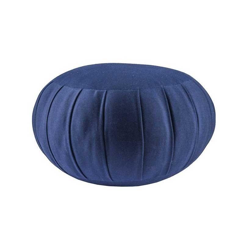 Zafu standard (kapok), bleu