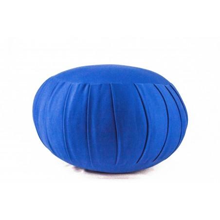 Zafu standard (kapok), bleu turquoise